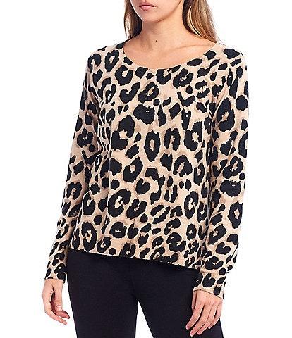 Sanctuary Spot On Leopard Print Long Sleeve Top