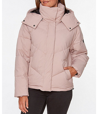 Sanctuary Stretch Down Puffer Coat