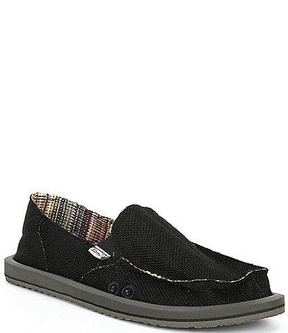 Sanuk Donna Hemp Slip-On Shoes