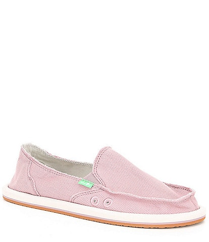 Sanuk Donna Hemp Slip On Shoes