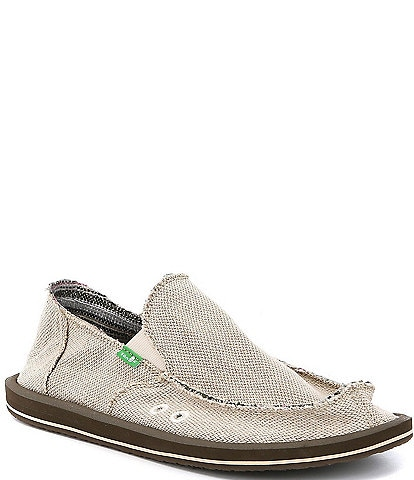 Sanuk Hemp Slip-On Shoes