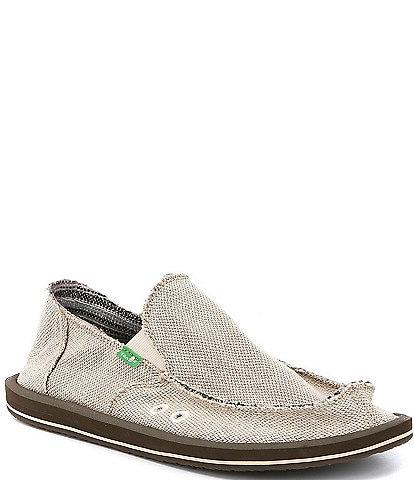 Sanuk Hemp Slip-On Shoes