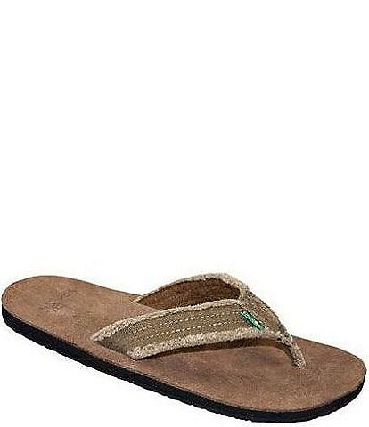 Sanuk Men's Frayed Not Thong Sandals