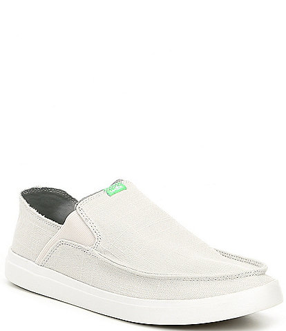 Sanuk Men's Pick Pocket Linen Slip On