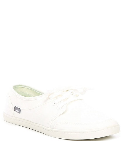 Sanuk Pair O Dice Lace Washed Canvas Sneakers