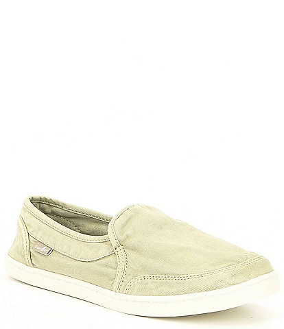 65bd0d9ebbd Sanuk Pair O Dice Canvas Slip-On Shoes
