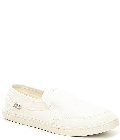 Sanuk Pair O Dice Canvas Slip-On Shoes