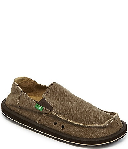 Sanuk Vagabond Canvas Slip-On Shoes