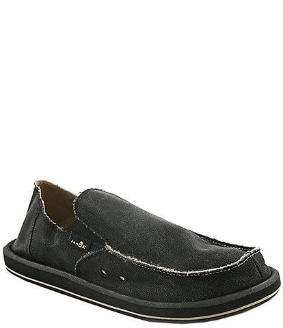 Sanuk Vagabond Canvas Slip-On Shoes