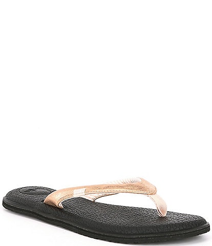 Sanuk Yoga Chakra Metallic Thong Sandals