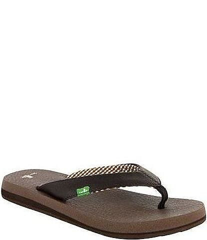 55cbd771be8f Sanuk Yoga Mat Flip Flop Sandals