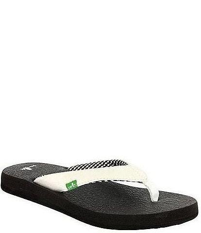 Sanuk Yoga Mat Flip Flop Sandals