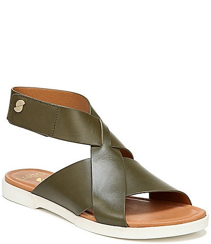 Sarto by Franco Sarto Akasha Leather Banded Sandals