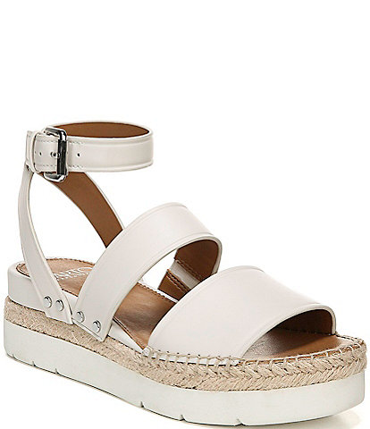 Sarto by Franco Sarto Calvin Leather Espadrille Sport Flatform Sandals