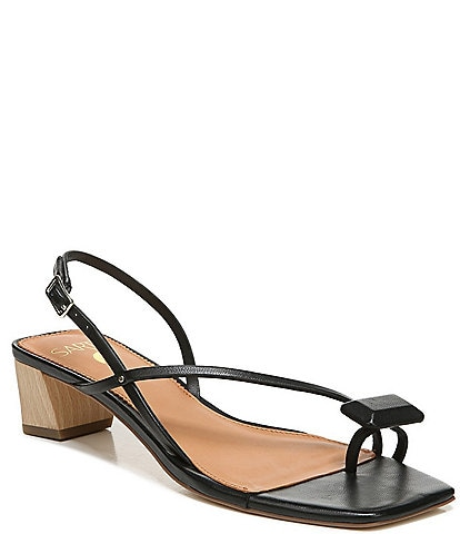 Sarto by Franco Sarto Courtney Leather Toe Ring Sandals