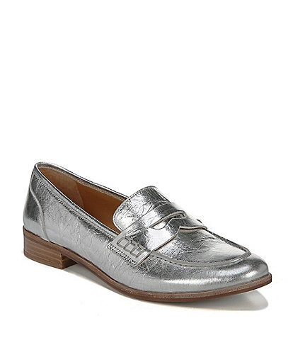 Sarto by Franco Sarto Jolette Leather Block Heel Loafers