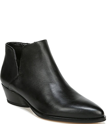 Sarto by Franco Sarto Shellson Leather Ankle Booties