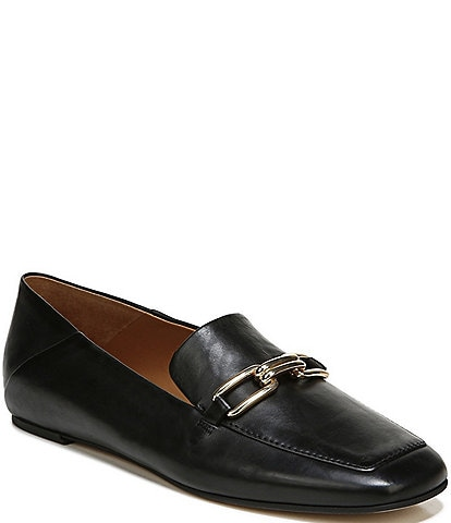 Sarto by Franco Sarto Tamra Leather Chain Detail Loafers