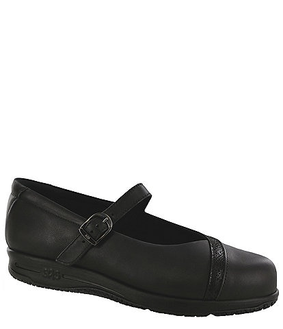 SAS Clare Leather Mary Jane Loafer