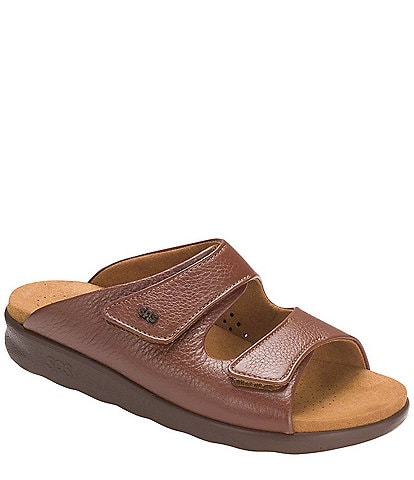 SAS Cozy Leather Slide Sandals