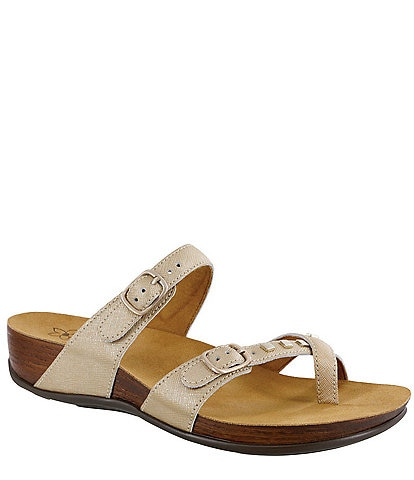 SAS Jett Leather Comfort Sandal