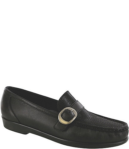 SAS Lara Moccasin Leather Loafer