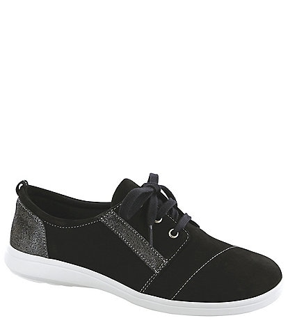 SAS Marnie Suede & Leather Sneakers