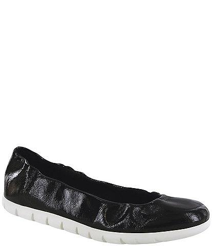 SAS Radiant Leather Ballerina Slip-Ons