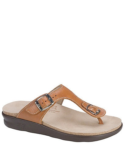 SAS Sanibel Leather Thong Sandals