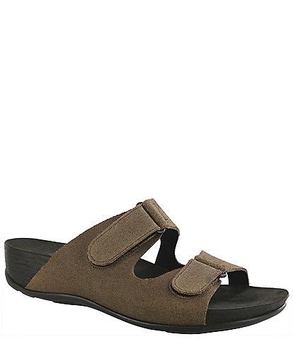 SAS Seaside Suede Slide Sandals