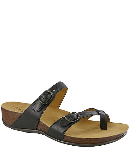 SAS Shelly Leather Slides