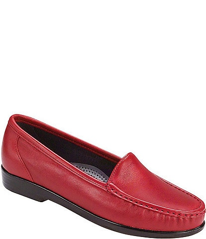 SAS Simplify Leather Moccasin Loafers