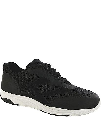 SAS Tour Leather & Mesh Sneakers