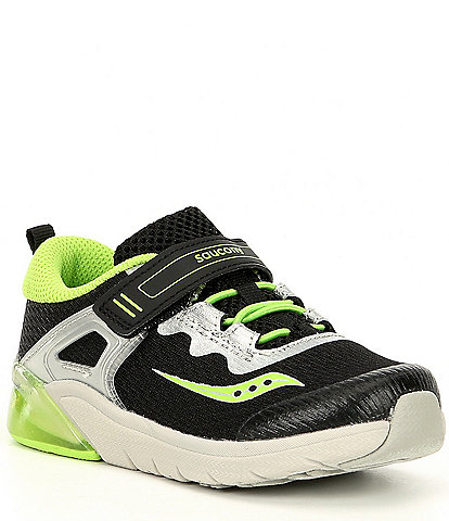 Saucony Boys' Flash Glow Jr Lighted Shoes Infant