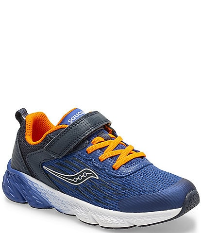 Saucony Boys' Wind Alternative Closure Running Shoes Youth
