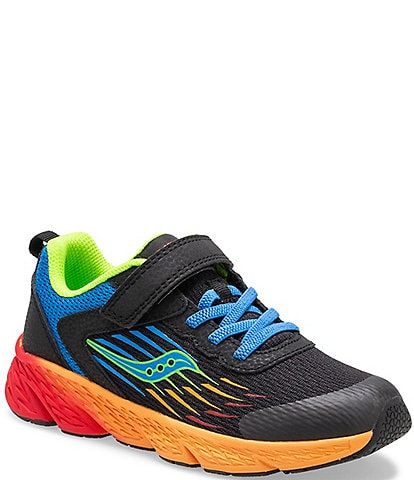Saucony Boys' Wind Alternative Closure Running Shoes (Youth)