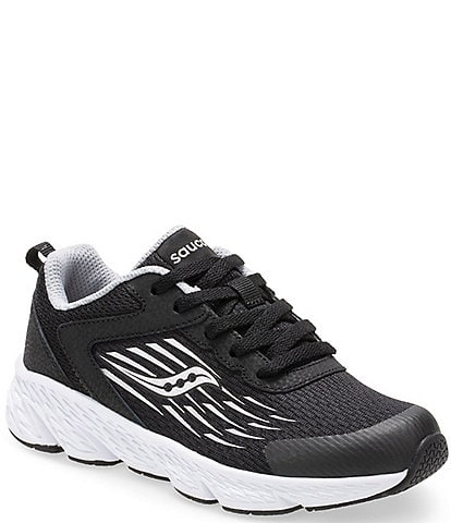 Saucony Boys' Wind Lace Up Running Shoe