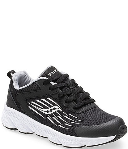 Saucony Kids' Wind Lace Up Running Shoes Toddler