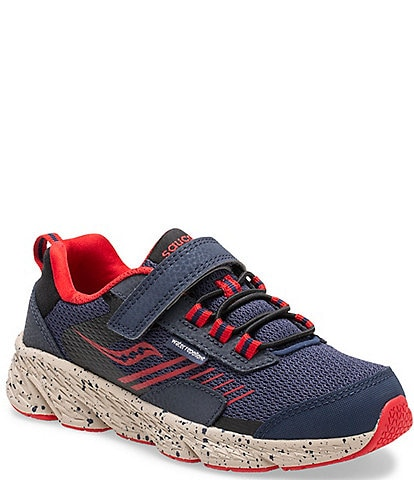 Saucony Boys' Wind Shield Running Shoes (Toddler)
