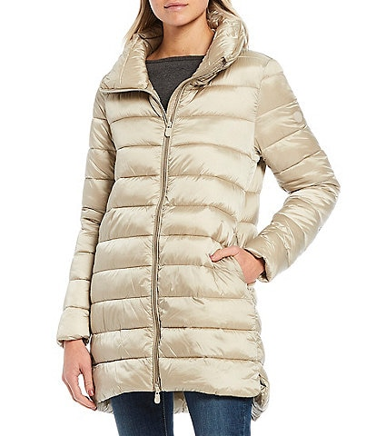 Save the Duck Iris Synthetic Down Quilted Long Parka