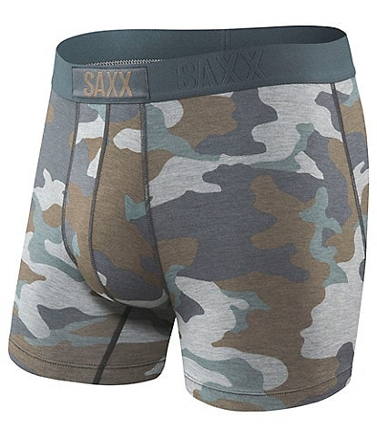 SAXX Vibe Supersize Camo Boxer Briefs