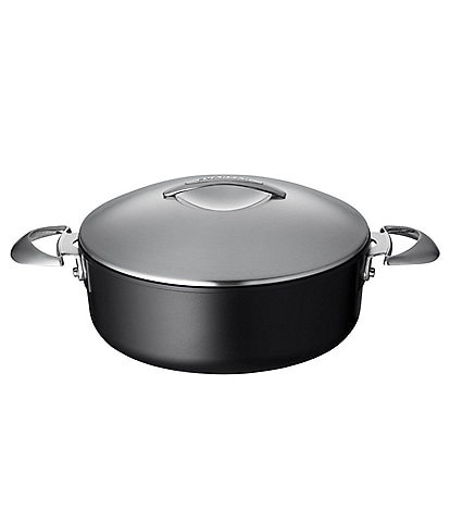 Scanpan Professional 4.5-Quart Covered Low Saucepot