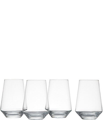 Schott Zwiesel 4-Piece Tritan® Stemless Bordeaux Glass Set