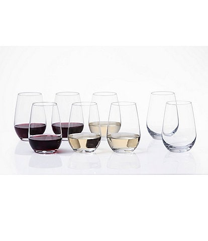 Schott Zwiesel Universal 8-Piece All-Purpose Stemless Wine Tumbler Set