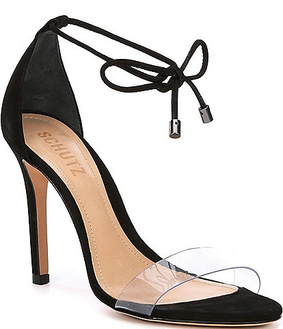 Schutz Josseana Suede Dress Sandals