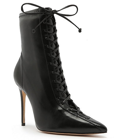 Schutz Tennie Lace Up Booties