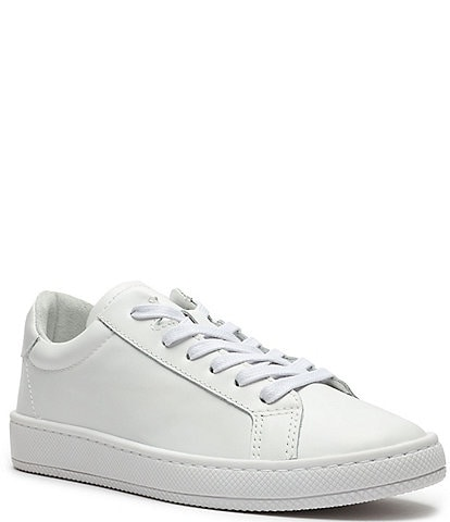 Schutz Verony Leather Lace-Up Sneakers