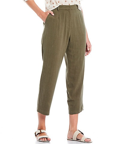 Shabby Chic Huntley Tapered Cropped Trouser