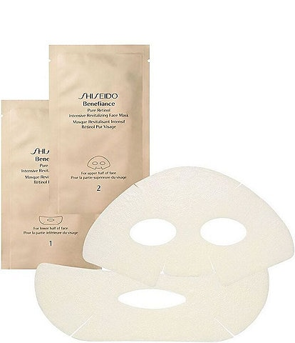 Shiseido Benefiance Pure Retinol Intensive Revitalizing Sheet Mask