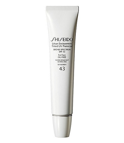 Shiseido Urban Environment Tinted UV Protector SPF 43 Light #1, Medium #2 and Dark #3